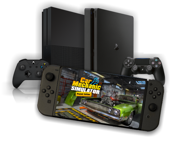 PlayStation 4, Nintendo Switch and Xbox One